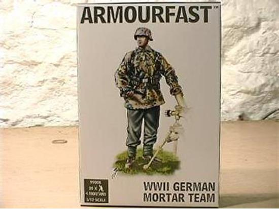 Armourfast WWII German Mortar Team 99006