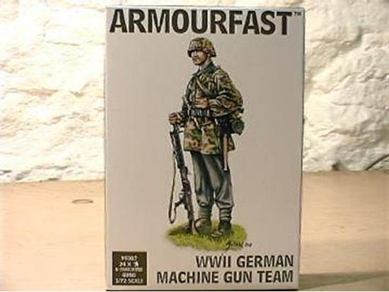 Armourfast WWII German Machine Gun Team 99007