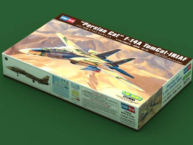 Hobbyboss Persian Cat F-14A TomCat - IRIAF