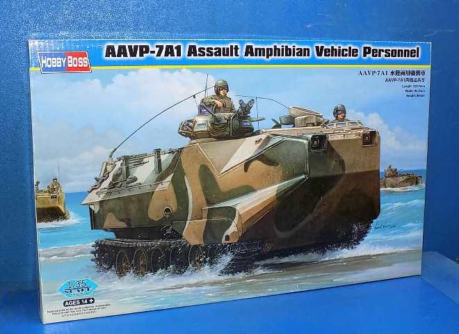 Neu Hobbyboss 82410-1:35 AAVP-7A1 Assault Amphibian Vehicle Personnel