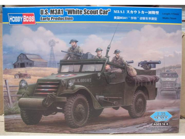 Hobbyboss M3A1 Scout Car 'White' Early Version 82451