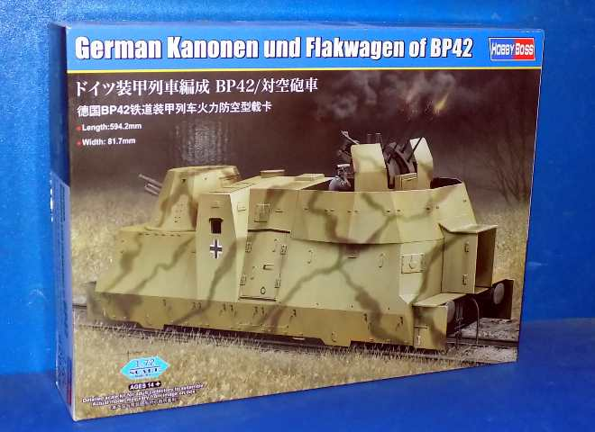 German Kanonen und Flakwagen of BP42