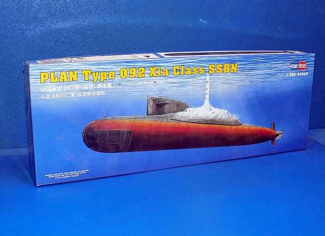 Hobbyboss 83511-1:350 PLAN Type 092 Xia Class Submarine Neu