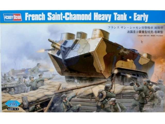 French St. Chamond Heavy Tank Early