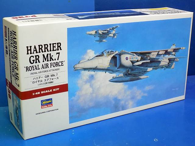 Hasegawa 1/48 HAPT36 Harrier GR7 'Royal Air Force'