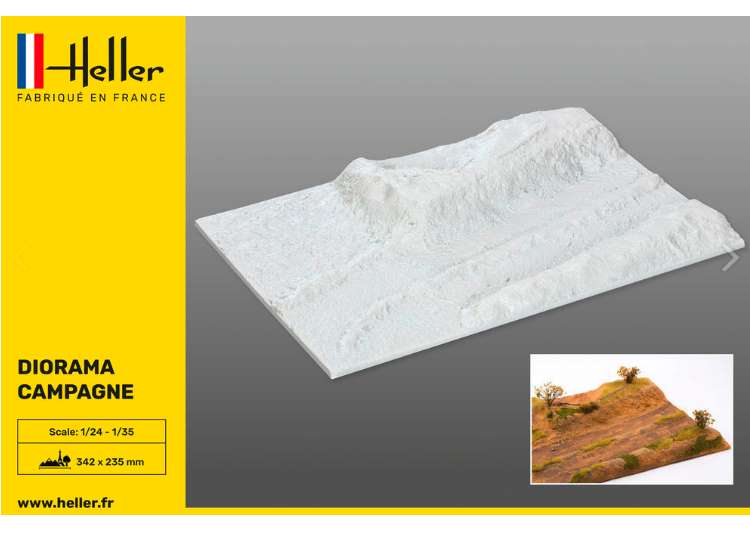 Heller Socle Diorama Base