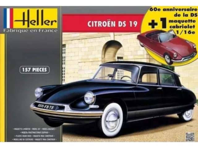 Heller Citroen DS 19 (60th Anniversary) 85795