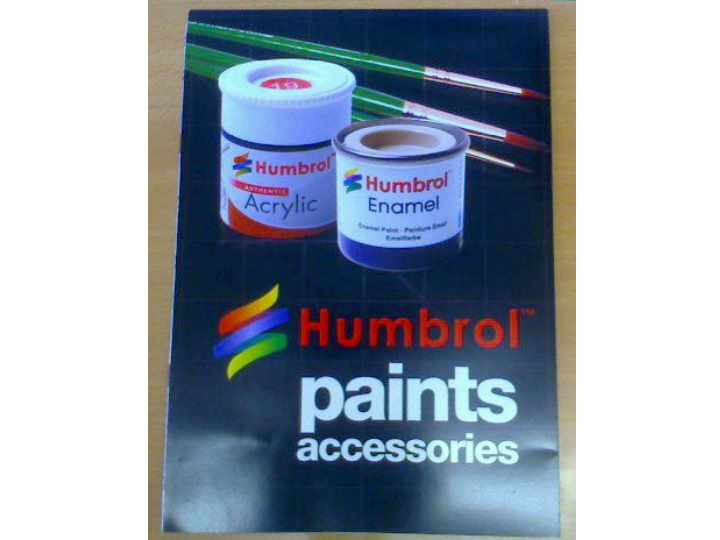 Humbrol na 0001 0001 Paint Colour Chart