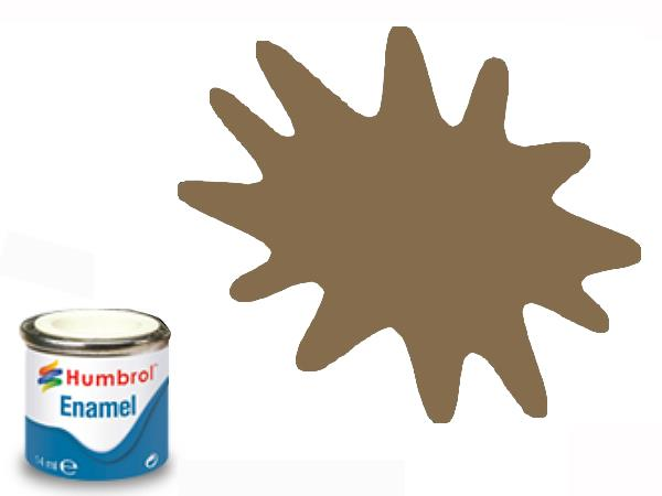 Humbrol 14ml 98 Enamel Paint 098 Matt Chocolate