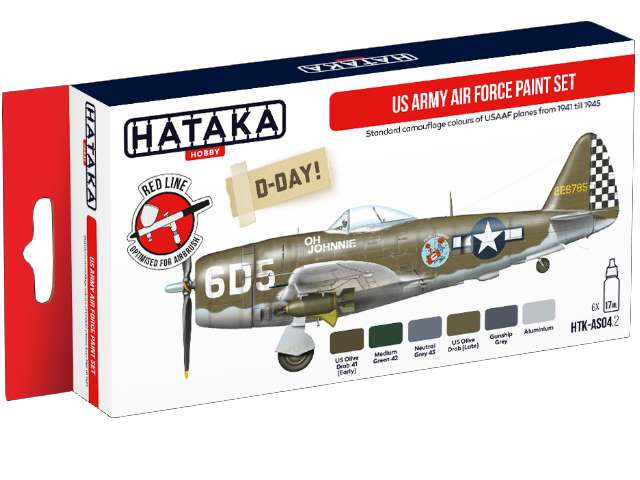 Acrylic Paint Set - US Army Air Force