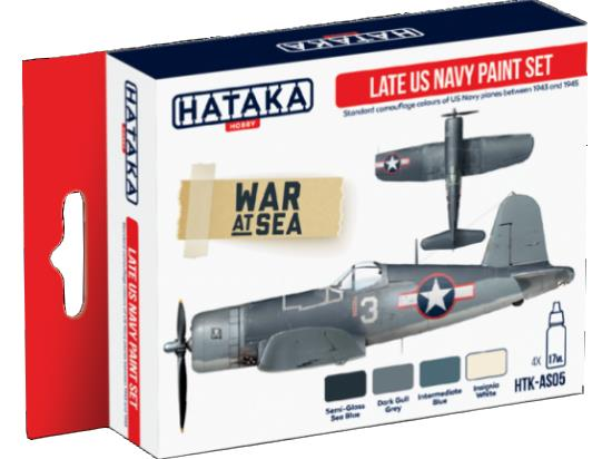 Acrylic Paint Set - Late US Navy