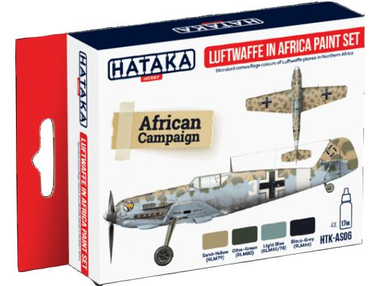 Acrylic Paint Set - Luftwaffe in Africa