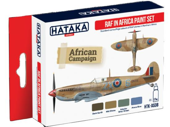 Acrylic Paint Set - RAF In Africa