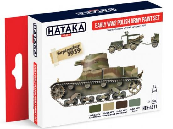 Acrylic Paint Set - Early WWII Polish Army