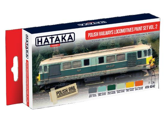 Acrylic Paint Set - Polish Railways Locomotive Vol.2