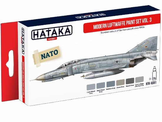 Acrylic Paint Set - Modern Luftwaffe vol. 3