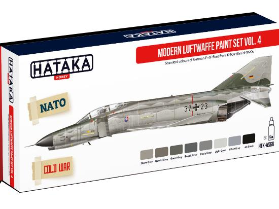 Acrylic Paint Set - Modern Luftwaffe Vol. 4