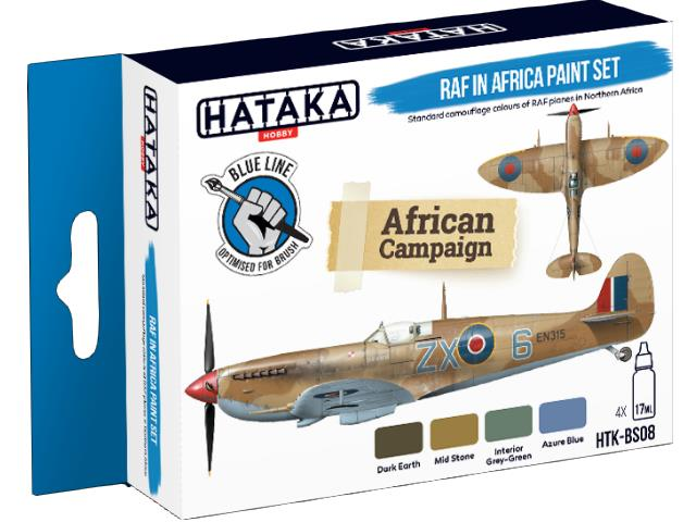 Acrylic Paint Set - RAF in Africa (for hand brushing)