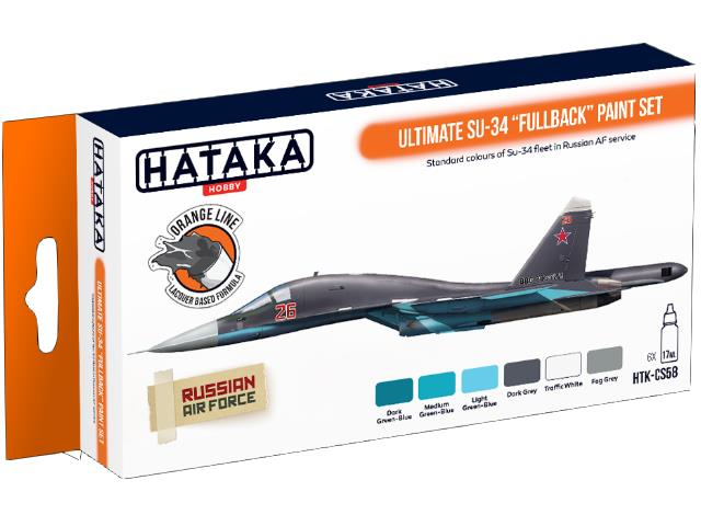 Lacquer Paint Set - Ultimate Su-34 Fullback