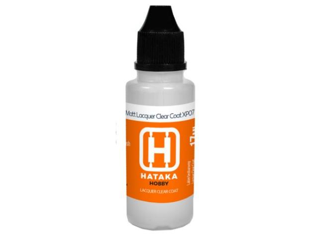 Hataka 17ml XP07 Matt Lacquer Clear Coat