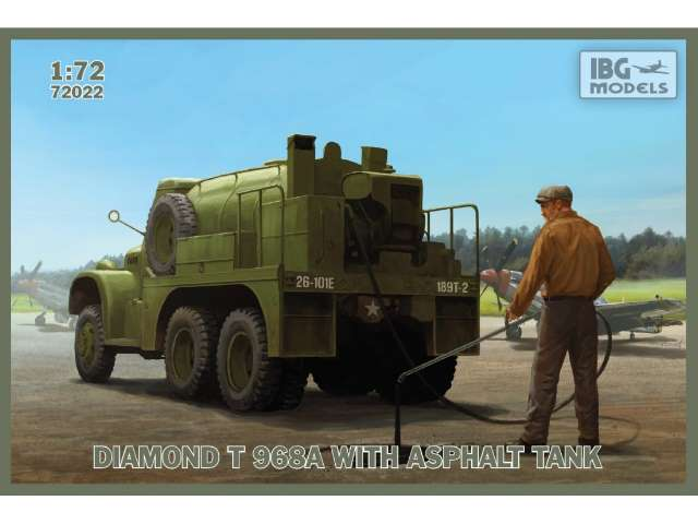 IBG Diamond T 968A with Asphalt Tank 72022