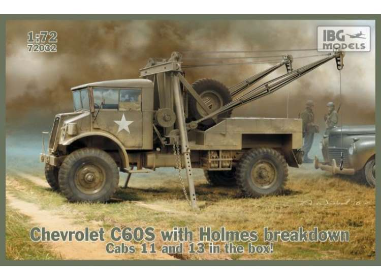 IBG Chevrolet C60S with Holmes breakdown. Cabs 11 and 13 72032