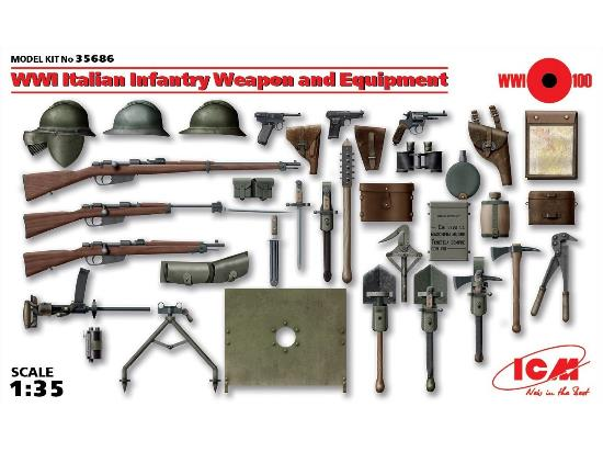 WWI Italian Infantry Weapon and Equipment