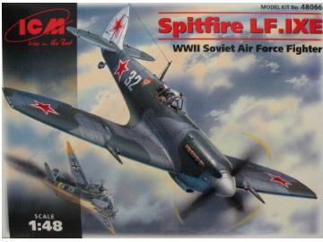 ICM Spitfire LF.IX USSR Air Force Fighter WWII
