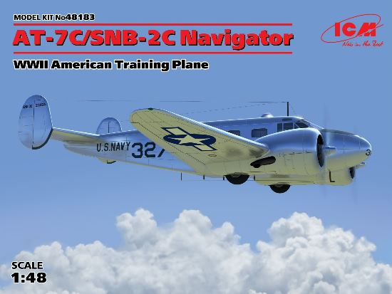 Beech AT-7C/SNB-2C Navigator - WWII American Training Plane