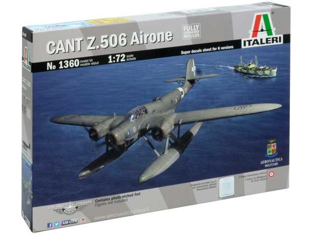 Italeri 1/72 1360 CANT Z 506 Airone