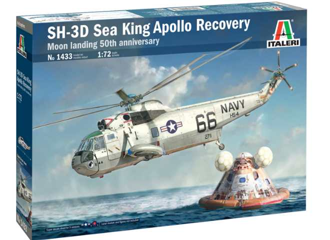 Italeri SH-3D Sea King Apollo Recovery