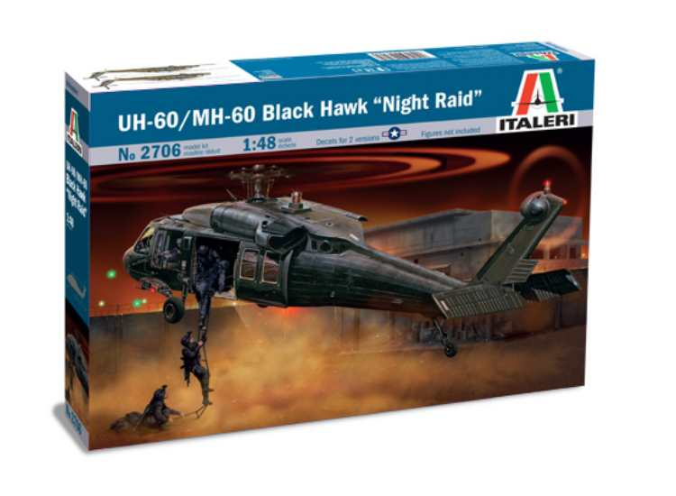 Italeri UH-60 / MH-60 BLACK HAWK 2706