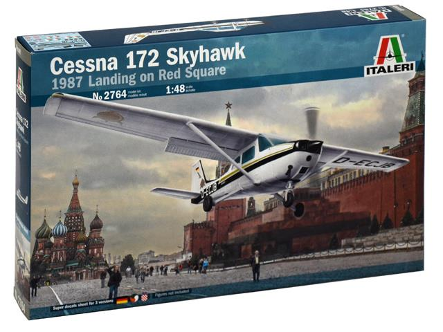 Italeri Cessna 172 Skyhawk - Landing on Red Square (1987)