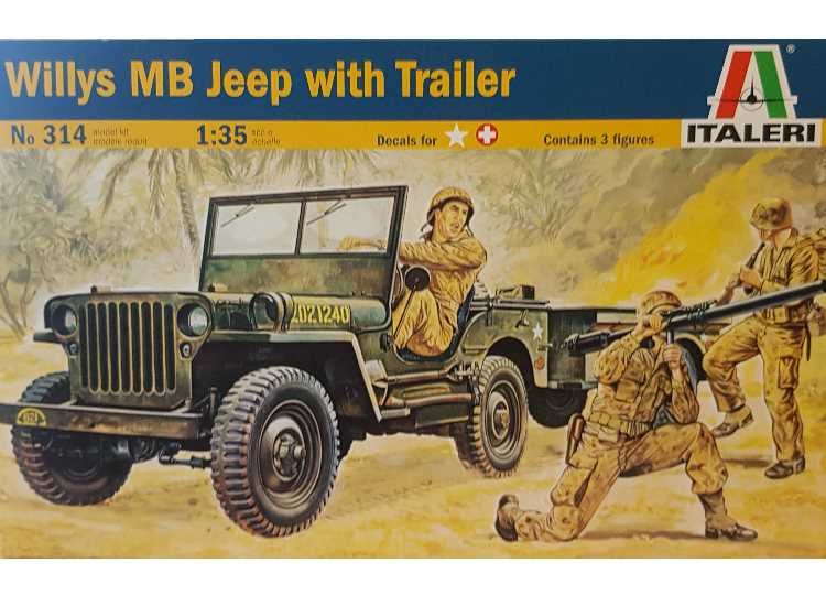 Italeri Willys Jeep