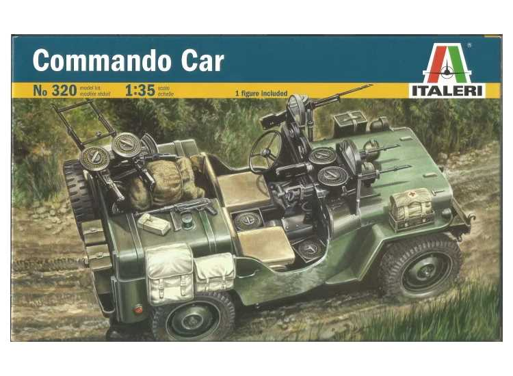 Italeri Command Car 320