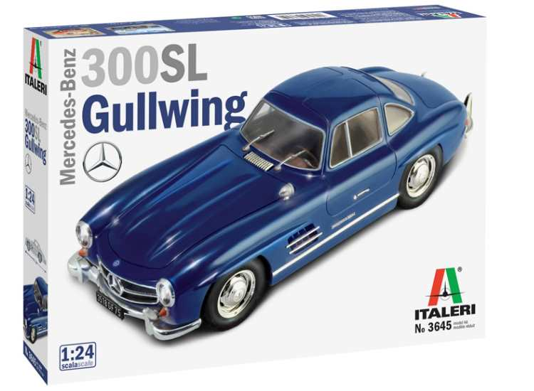 Italeri Mercedes Benz 300SL Gullwing 3645