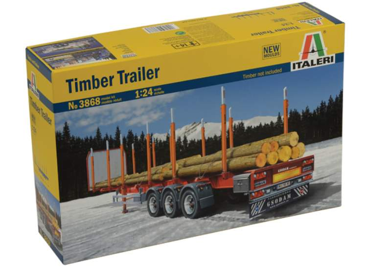 Italeri Timber Trailer 3868