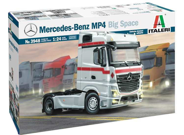 Italeri Mercedes-Benz  MP4 Big Space 3948