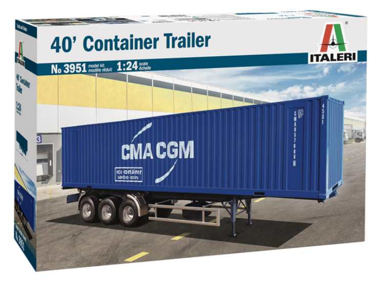 Italeri 40' Container Trailer