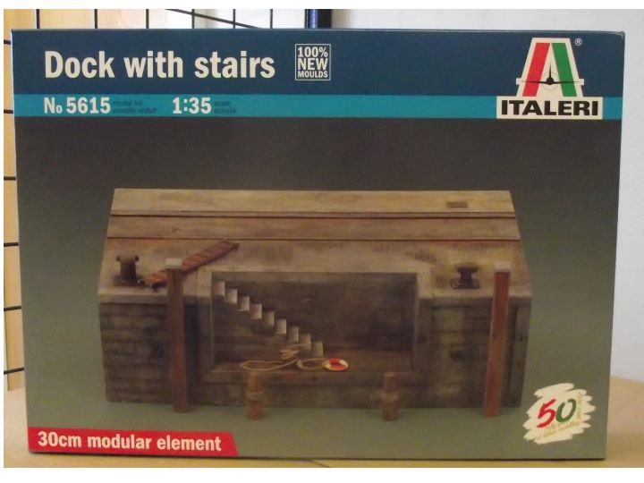 Italeri Dock with Stairs 5615