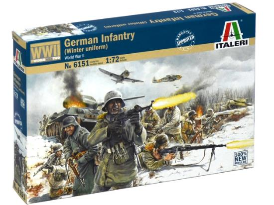 Italeri German Infantry (Winter uniform)
