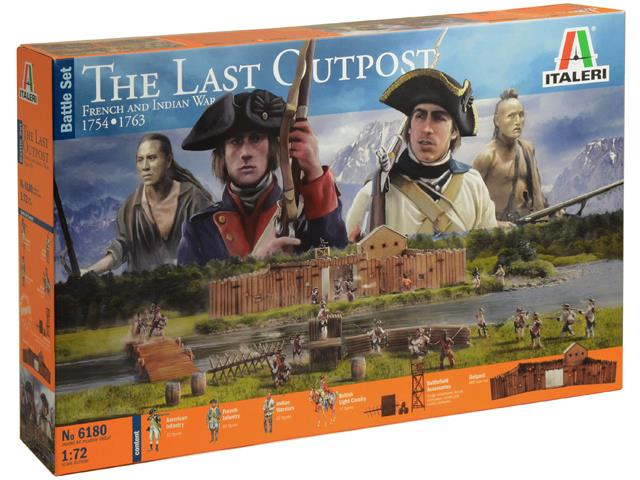 Italeri The Last Outpost 1754-1763 French and Indian War