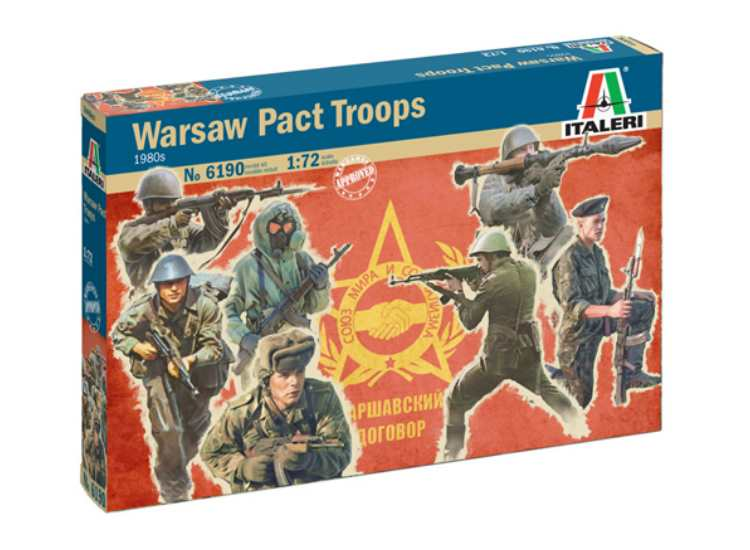 Italeri Warsaw Pact Troops 6190