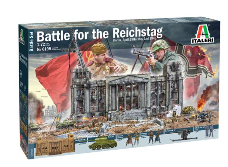 Italeri Battle For The Reichstag 6195
