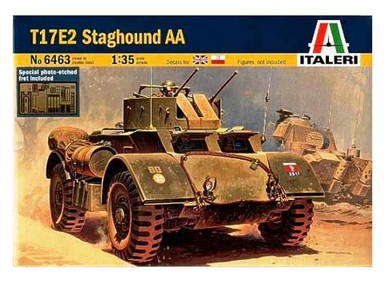 Italeri T17E2 Staghound AA