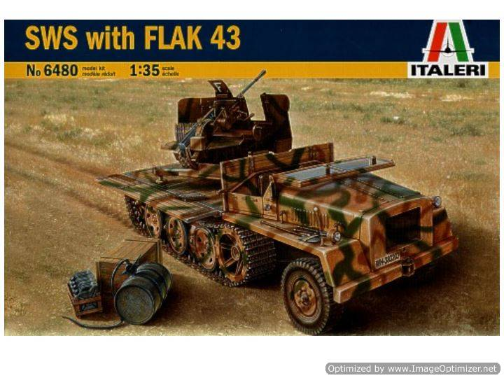 Italeri SWS with Flak 43