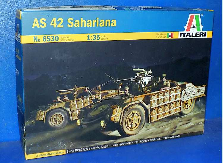 Italeri AS 42 Sahariana