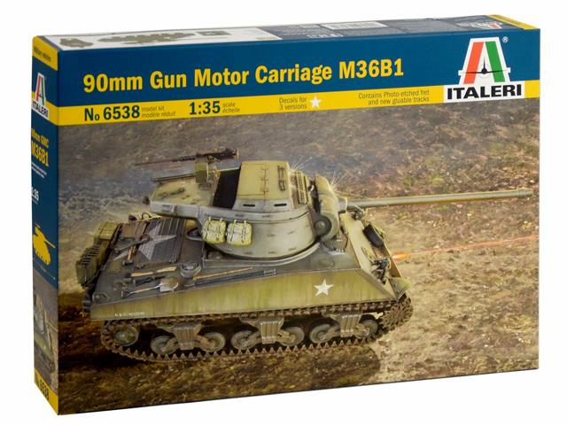 90mm Gun Motor Carriage M36B1 Tank Destroyer