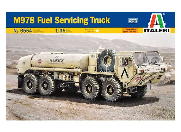 Italeri M978 Fuel Servicing Truck 6554