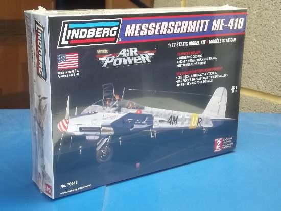 Lindberg 1//72 Messerschmitt ME-410 Model Kit 70517 New